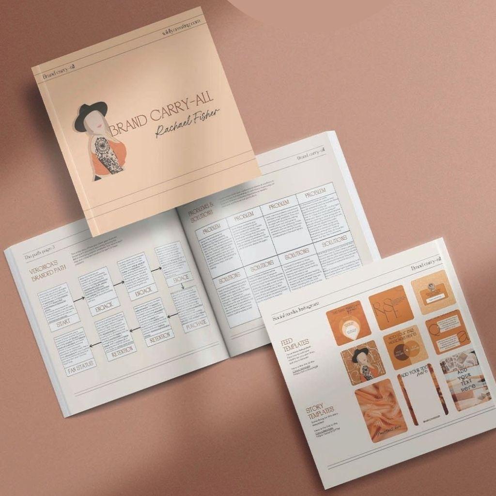 Rachael brand guide book