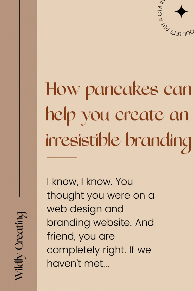 How pancakes can help you create an irresistible brand