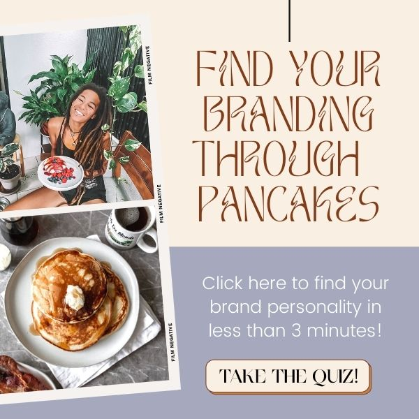 find your branding through pancakes