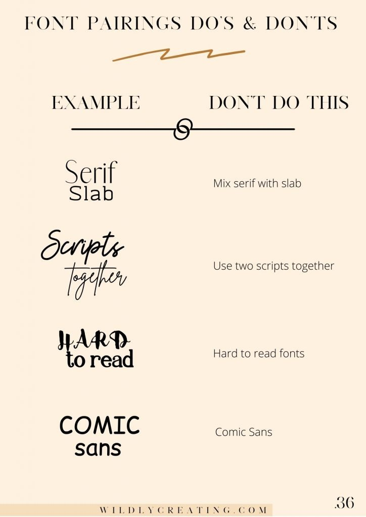how to use font psychology in your branding